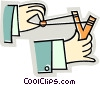 Vector Clip Art graphic  of a slingshot