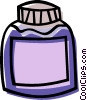 bottle, container Vector Clipart picture