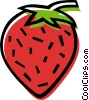 strawberry Vector Clipart illustration