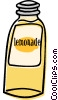 Vector Clip Art picture  of a bottle of lemonade
