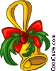 Vector Clipart picture  of a Christmas decoration