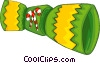 Vector Clipart picture  of a party favor