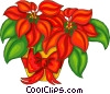 Vector Clipart graphic  of a Poinsettia