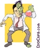 Dr. Jeckyl and Mr. Hyde Vector Clipart picture