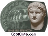 Vector Clipart image  of a Emperor Nero