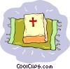 Vector Clip Art picture  of a bible