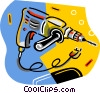 electric drill Vector Clipart image