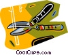 Vector Clip Art image  of a garden shears