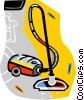vacuum Vector Clip Art graphic