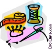 Vector Clipart illustration  of a tape measure
