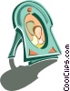 Vector Clip Art picture  of a picture frame