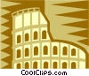 Vector Clipart illustration  of a coliseum