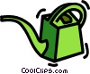 watering can Vector Clipart graphic