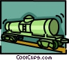 railcar Vector Clip Art graphic