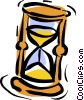 hourglass Vector Clip Art picture