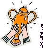 trophies Vector Clip Art picture
