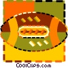 football Vector Clipart illustration