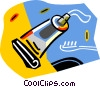 Vector Clip Art graphic  of a tubes of toothpaste