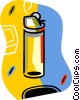 cigarette lighters Vector Clipart graphic