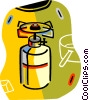 camping stove Vector Clipart graphic