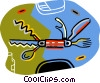 Swiss army knife Vector Clipart graphic