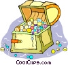 treasure chest Vector Clipart picture