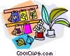 garden nursery Vector Clip Art picture