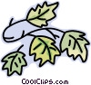 leafs Vector Clipart picture