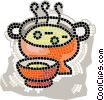 pea soup Vector Clip Art graphic