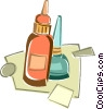 glue Vector Clipart picture