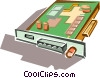 computer board Vector Clipart picture