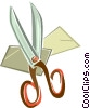 scissors Vector Clipart illustration
