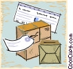 packages Vector Clip Art graphic