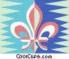 Vector Clipart graphic  of a fleur-de-lis