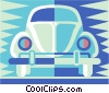 Vector Clipart image  of a car