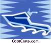 jet ski Vector Clip Art graphic