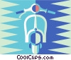 scooter Vector Clipart picture