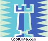Vector Clipart picture  of a chess piece