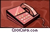 telephones Vector Clipart picture