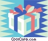 gift, present Vector Clipart illustration
