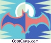 bat Vector Clipart graphic