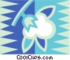 cotton Vector Clipart illustration