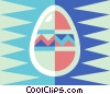 Vector Clipart image  of a Easter egg