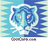 tigers Vector Clipart graphic