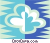 Vector Clipart image  of a clouds