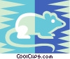 Vector Clip Art image  of a mouse