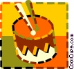 drum Vector Clip Art graphic