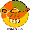 Vector Clipart picture  of an Aladdin's lamp
