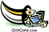computer equipment Vector Clip Art image