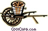 wagon Vector Clipart graphic